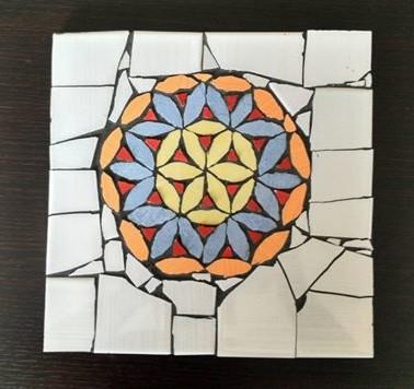 Mozaik - roža življenja